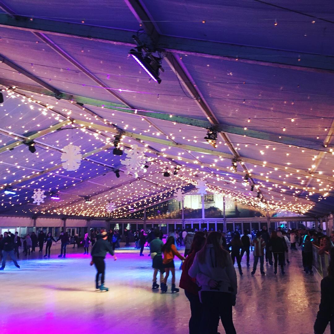 winter wonderland skating